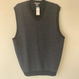 Eddie Bauer Merino Wool Vest NWT
